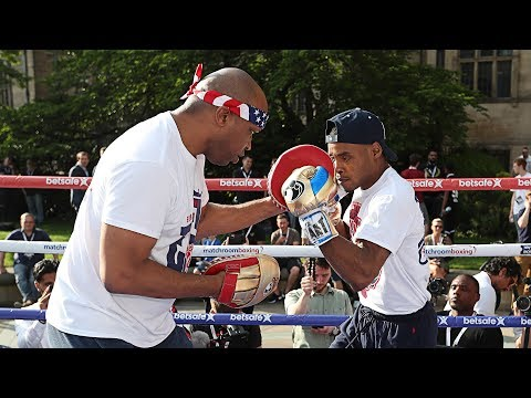 Brook vs. Spence: Open Workouts