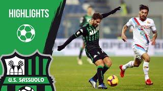 Coppa Italia, highlights Sassuolo-Catania 2-1