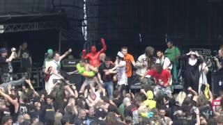 Haemorrhage   Live Obscene Extreme Trutnov 2013