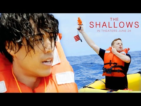 The Try Guys Try Not To Die At Sea // Sponsored by The Shallows