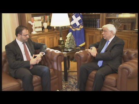 Συνάντηση ΠτΔ με τον πρόεδρο της ΔΗΜΑΡ