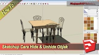 Video Cara Hide dan Unhide Objek di Sketchup | Bahasa Indonesia MP3, 3GP, MP4, WEBM, AVI, FLV Desember 2017