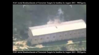 Airforce strikes Boko Haram bunk in Sambisa