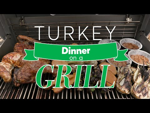 , title : 'Thanksgiving Turkey Dinner on a Grill  | Consumer Reports'