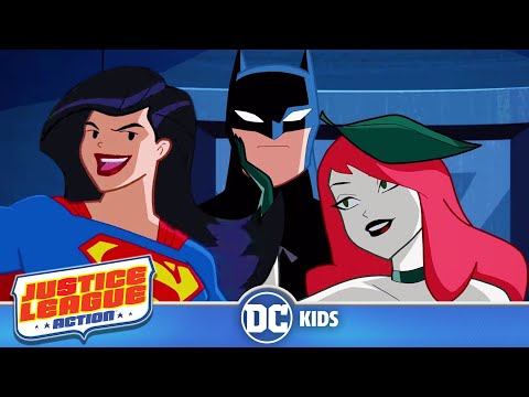 Justice League Action | Exclusive Shorts Episodes 11-16 | DC Kids