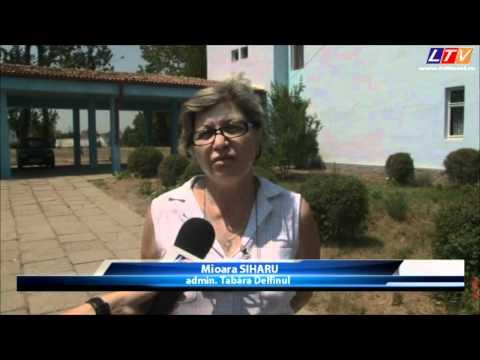"""în Tabără de Copii """"Delfinul"""" din Năvodari (VIDEO"""