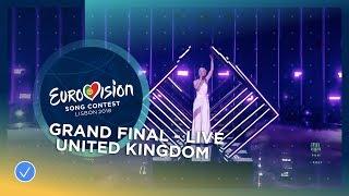 Video SuRie - Storm - United Kingdom - LIVE - Grand Final - Eurovision 2018 (Jury Show Performance) MP3, 3GP, MP4, WEBM, AVI, FLV September 2018