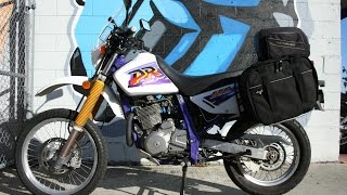 8. 1996 Suzuki DR650 SE Dual Sport Motorcycle For Sale