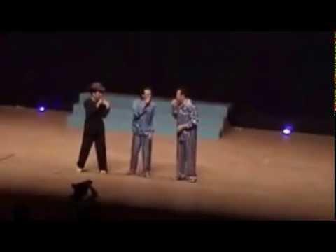 Tập thể dục hài - Hoài Linh, Trường Giang, Chí tài 2014 tại Nhật Bản