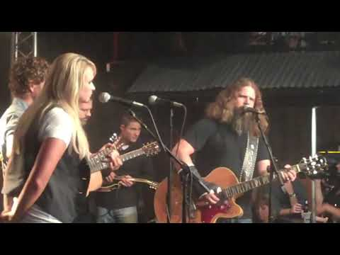 Jamey Johnson with Miranda Lambert-