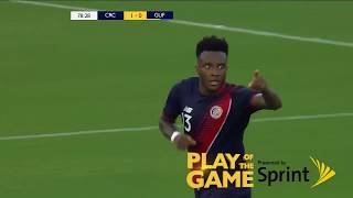 Congratulations to Costa Rica's Rodney Wallace for making the Play of the Game presented by Sprint against French Guiana!