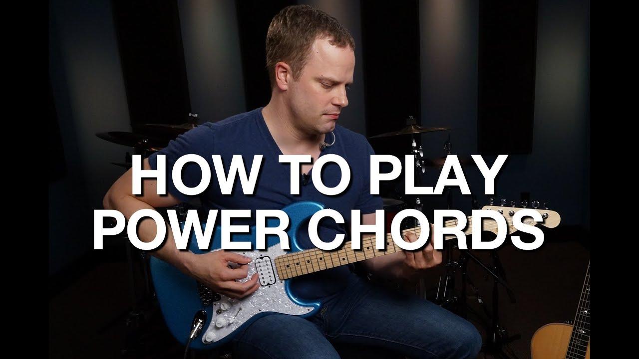 How To Play Power Chords – Rhythm Guitar Lesson #2