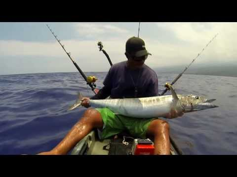 Extreme Kayak Fishing Hawaii - REEL TRIPZ 6  - kayak fishing, kayak photos, kayak videos
