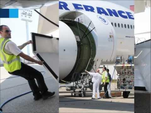 Aircraft Engine water wash – MRO – Air France Industries KLM Engineering & Maintenance (AFI KLM E&M)