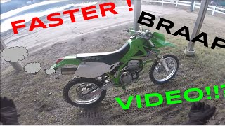 6. FASTER WITH KLX300R