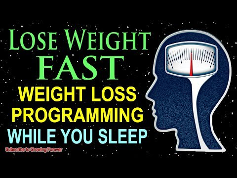 Lose Weight While You Sleep ~ Weight Loss Affirmations For A Thin And Healthy Body ~ Mind Power!
