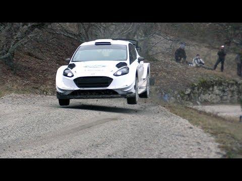 Rallye Monte Carlo 2018 Test Sebastien Ogier Ford Fiesta WRC