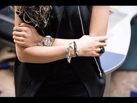 Женские золотые браслеты кайзер фото