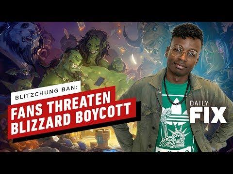 Fans Threaten Blizzard Boycott After Hearthstone Pro Ban - IGN Daily Fix