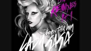 Lady GaGa videoklipp Born This Way (DJ White Shadow Remix)