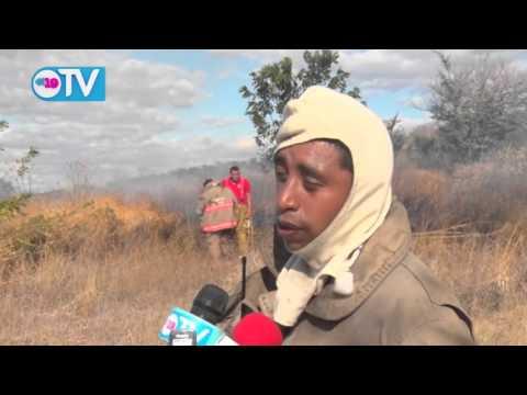 Incendio forestal cercano a Xiloá