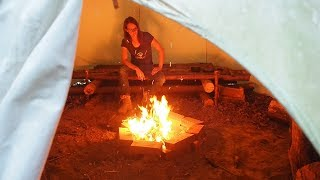 Video sponsored by: https://fivejoy.com/Get the shovel here: http://amzn.to/2uRfL3WSmokefree tipi?! How to dig an air tunnel!Want a Survival Lilly T-Shirt?https://shop.spreadshirt.com/SurvivalLillyLilly`s new cameras:Sony http://amzn.to/2b5w5ofOlympus http://amzn.to/2naRUWC► More Videos To Watch – Lilly's Favorite ◄Helicopter Drop Off On Vancouver Islandhttps://www.youtube.com/watch?v=WASK7oF9dogCatch 'n' Cook – Ghost Crabs https://www.youtube.com/watch?v=A8vTba0hA_0---------------------------------------------------------------► SOCIAL MEDIA ◄Facebook ► https://goo.gl/j79k3jWebsite ► www.survivallilly.atTwitter ► https://twitter.com/SurvivalLillyInstagram ► https://instagram.com/survival_lilly/♥ Feel free to subscribe to my channel. Please share my videos on Facebook and Reddit. Thanks ♥Hi, my name is Lilly and I like spending time in nature to practice my survival and bushcraft skills. This channel documents my learning process of all wilderness and urban survival skills. This is not a purely primitive survival channel. Sometimes I use modern tools which people might have at hand in a real survival situation. Thanks for watching ~ Survival Lilly