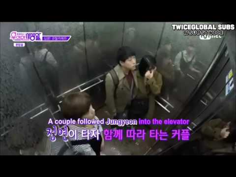 Twice couple kissing in elevator reaction😘😇