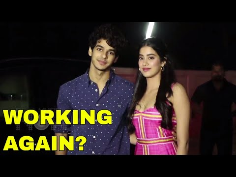 Janhvi Kapoor And Ishaan Khatter To Work TOGETHER