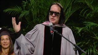 Video Todd Rundgren - Berklee Commencement Address 2017 MP3, 3GP, MP4, WEBM, AVI, FLV Mei 2019