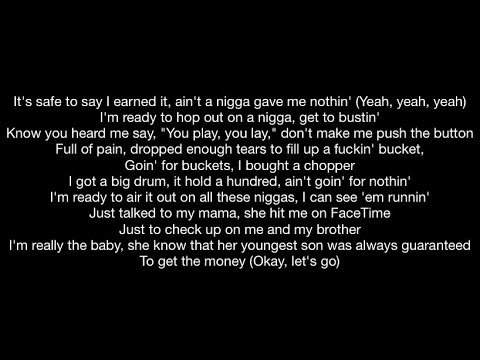 DaBaby feat. Roddy Ricch - ROCKSTAR (BLM Remix) (Official Music Video Lyrics)