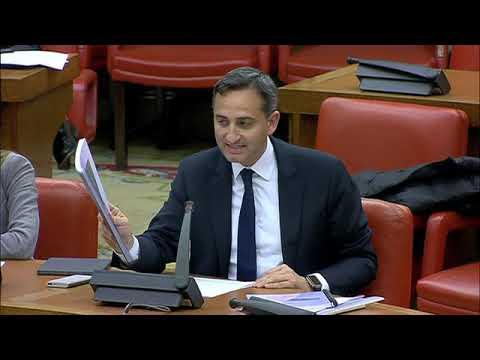 César Sánchez en la Comisión de Transición Ecológi...