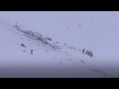 Ελικόπτερο διάσωσης συνετρίβη στην κεντρική Ιταλία