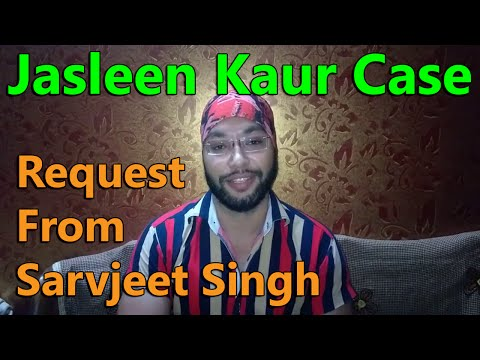 A Personal Request made by Sarvjeet Singh – To All His Supporters
