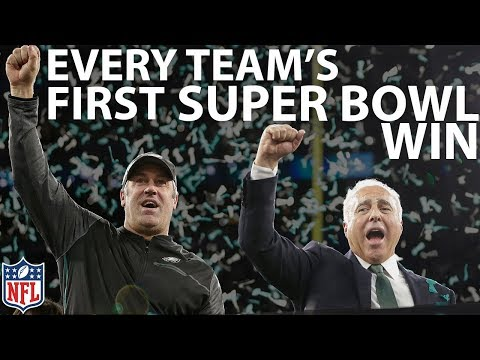 Video: Every Team's First Super Bowl Win | NFL Highlights