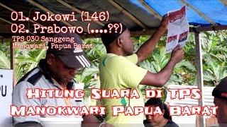 Video Timpangnya Suara Jokowi & Prabowo di Papua (Sampel 4 TPS di Manokwari) MP3, 3GP, MP4, WEBM, AVI, FLV April 2019