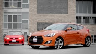 2013 Hyundai Veloster Turbo vs. 2013 Scion tC Release Series 8.0 Comparison