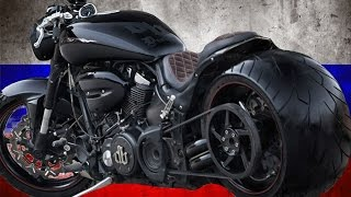 9. Yamaha Road Star Warrior 1700 by DB Design | Motorcycle Muscle Custom Review