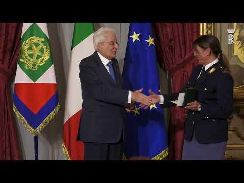 il Presidente Mattarella consegna le Onorificenze al Merito della Repubblica Italiana