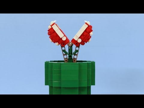 How To Build A Working LEGO Piranha Plant