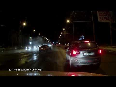 Массовая авария в Самаре