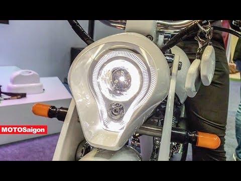 Chạy thử Xe máy điện E-Bike MUNRO v2.0 giá bán 153 triệu đồng - Thời lượng: 3 phút, 16 giây.