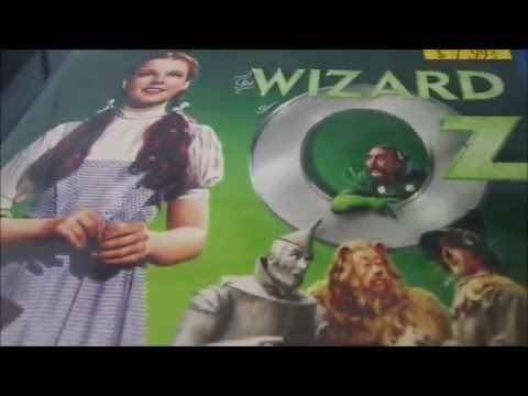 The Wizard Of Oz 70th Anniversary Edition Blu Ray Unboxing