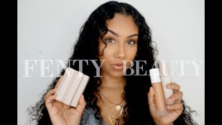 FENTY BEAUTY BY RIHANNA Every Day Make-up Tutorial / Review   TheAnayal8ter