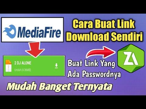 Cara Membuat Link Download Sendiri Di Mediafire | Untuk Link Deskripsi