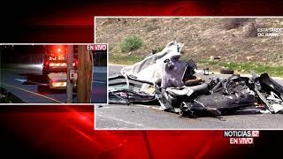 Muerto en autopista de Irvine-Noticias 62 - Thumbnail