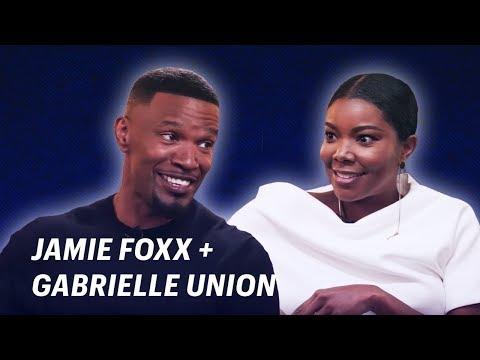 Jamie Foxx Interviews Gabrielle Union    OFF SCRIPT a Grey Goose Production