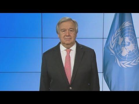 Αντόνιο Γκουτέρες, ΓΓ Ηνωμένων Εθνών, για κορονοϊο: Μαζί θα τα καταφέρουμε