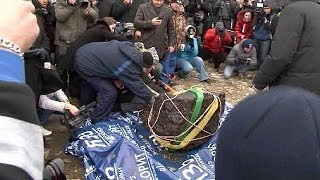 Chelyabinsk Russia  City new picture : Russia: huge chunk of Chelyabinsk meteor recovered from lake