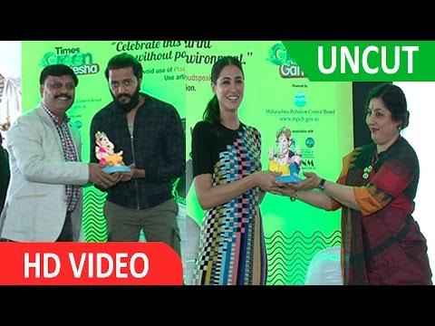 UNCUT Satarcast Film Banjo Actor Riteish Deshmukh, Nargis Fakhri Visit NM College
