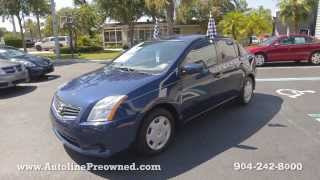 Autoline Preowned 2011 Nissan Sentra 2.0 For Sale Used Walk Around Review Test Drive Jacksonville